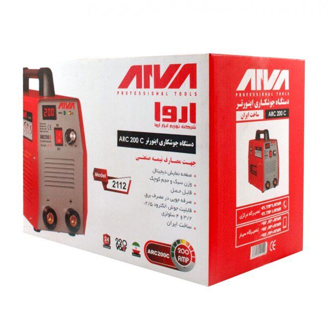 همکاری در فروش ابزار 118 اینورتر جوشکاری 200 آمپر آروا4