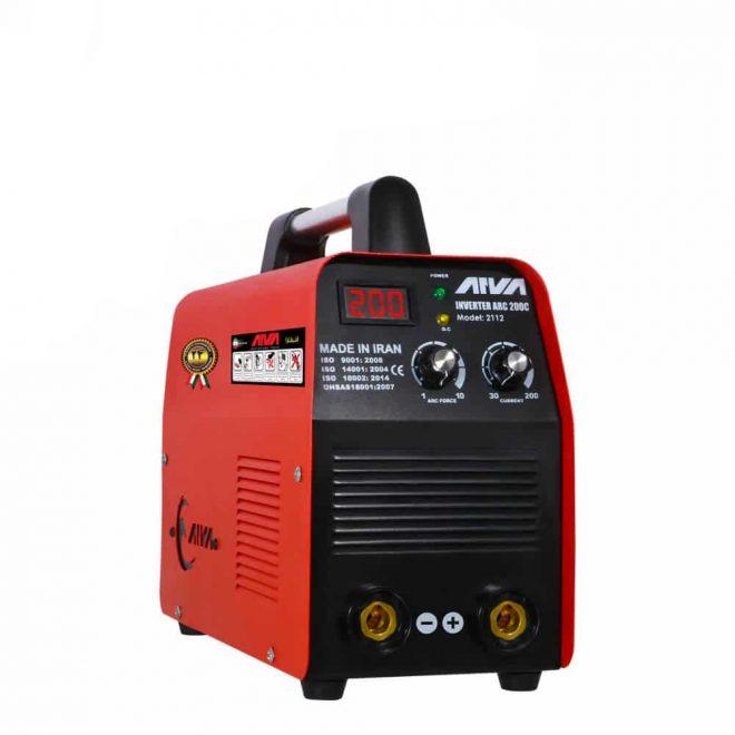 همکاری در فروش اینورتر جوشکاری 200 آمپر آروا مدل 2112ابزار 118