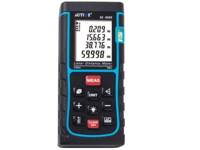 متر لیزری اکتیو مدل AC6660همکاری در فروش ابزار118