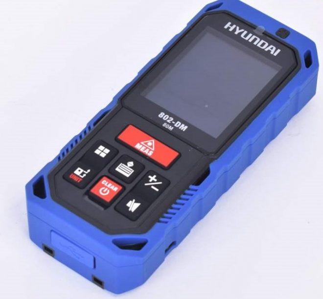 متر لیزری هیوندای مدل 802DM1ابزار118 همکاری در فروش