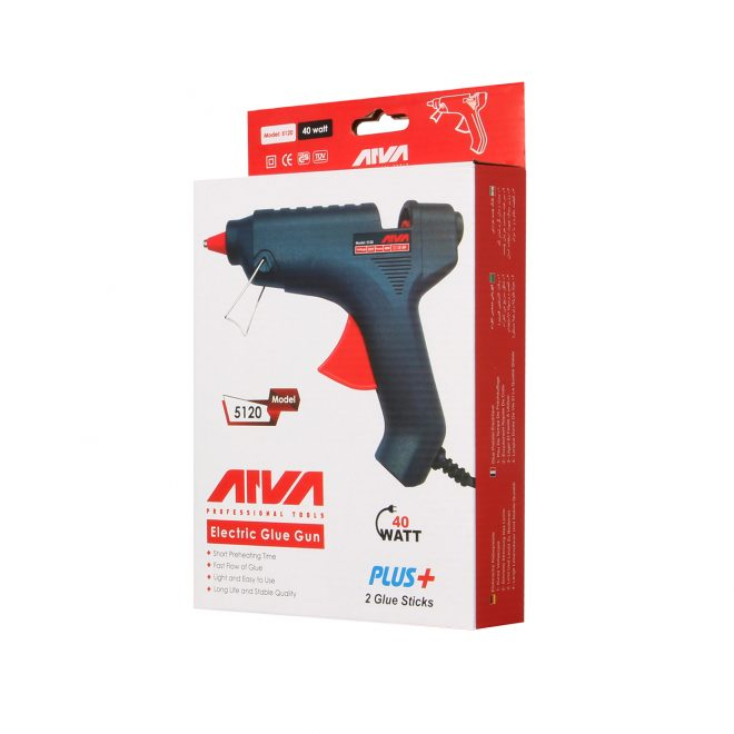 همکاری در فروش ابزار 118 تفنگ چسب حرارتی آروا مدل 51200