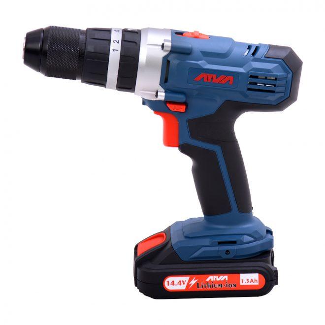 همکاری در فروش ابزار 118 دریل شارژی آروا مدل 58031