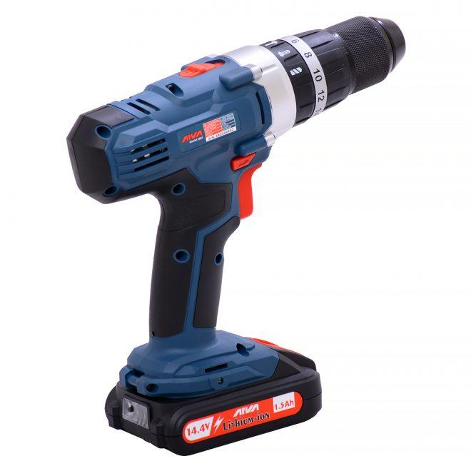 همکاری در فروش ابزار 118 دریل شارژی آروا مدل 58034