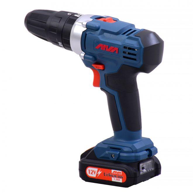 همکاری در فروش ابزار 118 دریل چکشی شارژی آروا مدل 58023