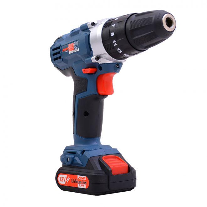 همکاری در فروش ابزار 118 دریل چکشی شارژی آروا مدل 58024