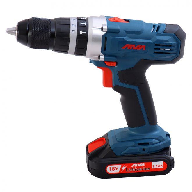 همکاری در فروش ابزار 118 دریل چکشی شارژی آروا مدل 5804 2