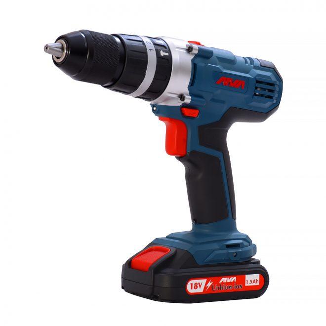 همکاری در فروش ابزار 118 دریل چکشی شارژی آروا مدل 5804