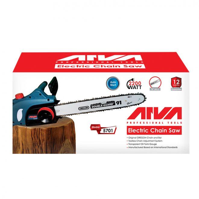 همکاری در فروش ابزار118 اره زنجیری برقی آروا مدل 5701=