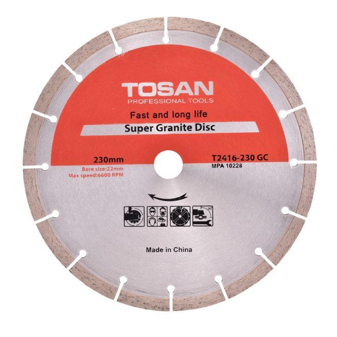 صفحه گرانیت بر توسن مدل T2416-230