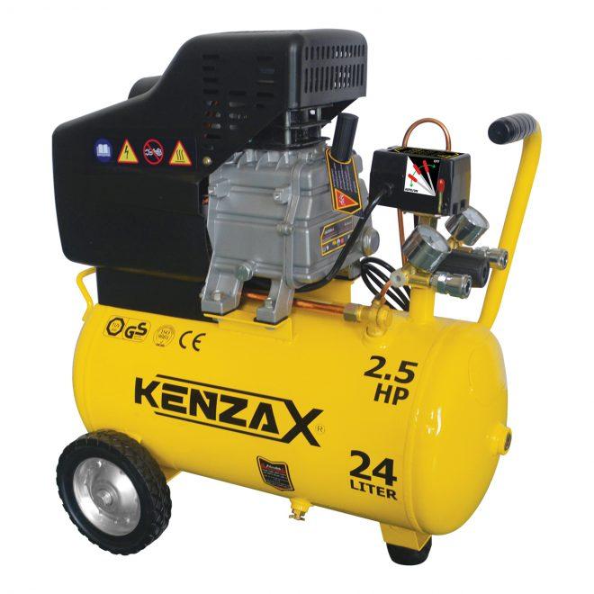 همکاری در فروش ابزار 118 کمپرسور باد 24 لیتری کنزاکس