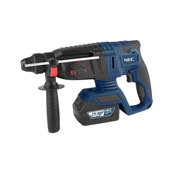 همکاری در فروش ابزار 118 بتن کن شارژی ان ای سی مدل 9521