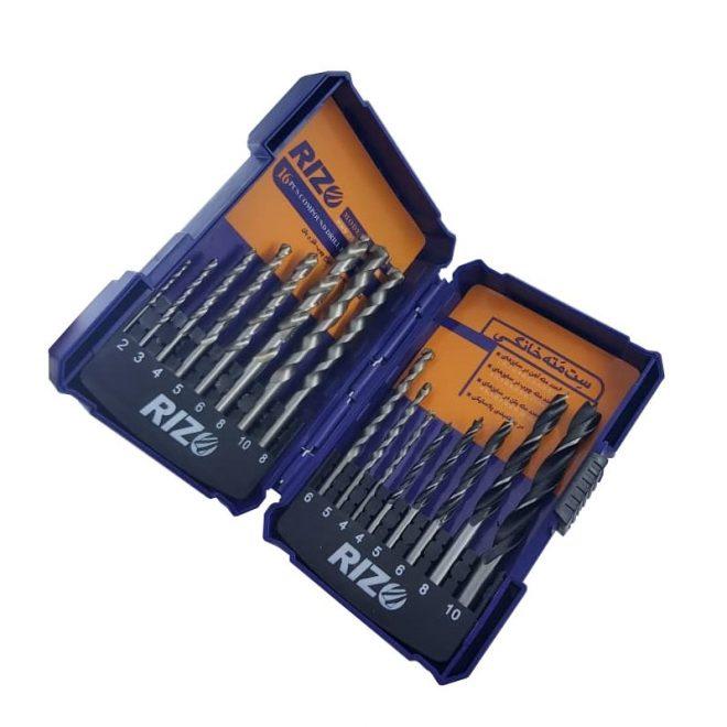همکاری در فروش ابزار 118 جعبه مته ریزو مدل DS16PCS 1