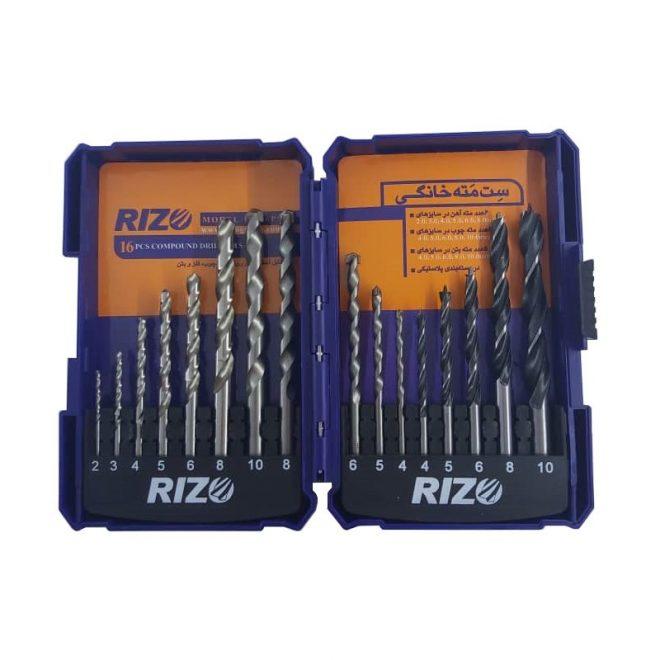 همکاری در فروش ابزار 118 جعبه مته ریزو مدل DS16PCS