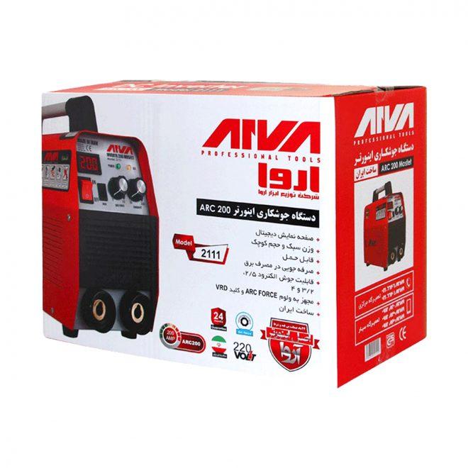 همکاری در فروش ابزار 118 اینورتر جوشکاری 200 آمپر آروا 5