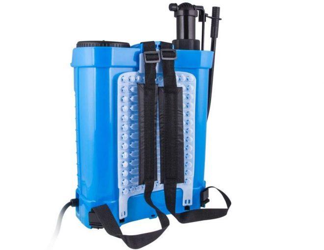 سمپاش شارژی اکتیو حجم 20 لیتر همکاری در فروش ابزار 118ص