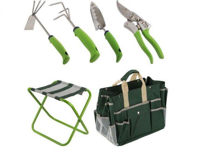 همکاری در فروش ابزار 118 ست ابزار باغبانی هاردکس