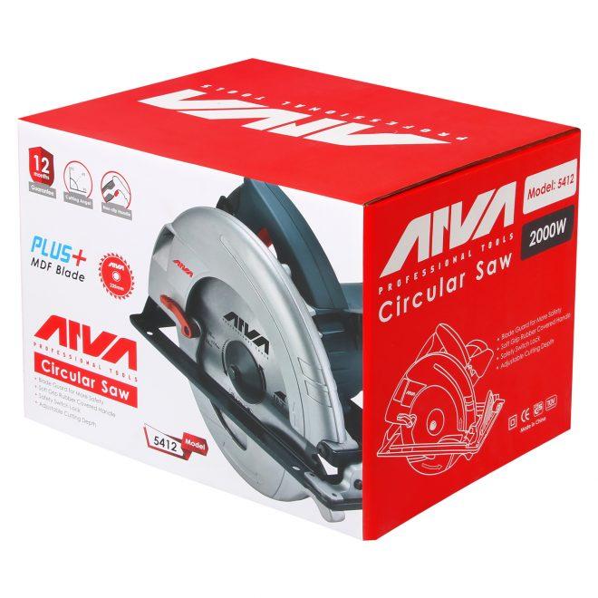 همکاری در فروش ابزار 118 اره دیسکی آروا مدل 5412 5