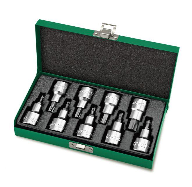 همکاری در فروش ابزار 118 جعبه بکس 9 پارچه ستاره ای 12 تاپ تول مدل GAAD0903
