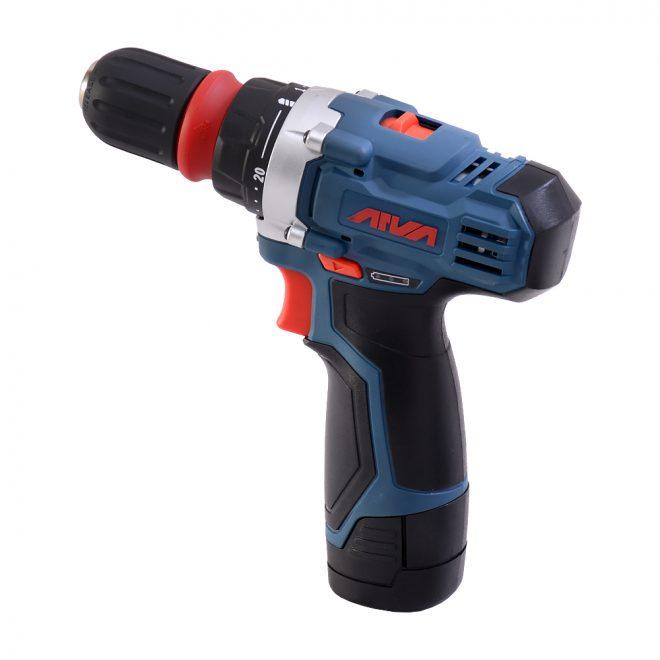 همکاری در فروش ابزار 118 دریل شارژی آروا مدل 58013