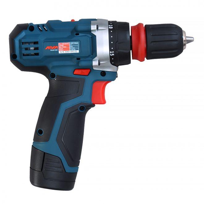 همکاری در فروش ابزار 118 دریل شارژی آروا مدل 58015