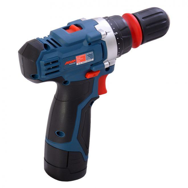 همکاری در فروش ابزار 118 دریل شارژی آروا مدل 58018