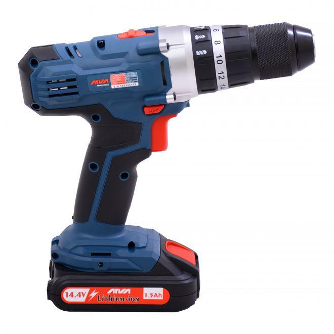 همکاری در فروش ابزار 118 دریل شارژی آروا مدل 58033