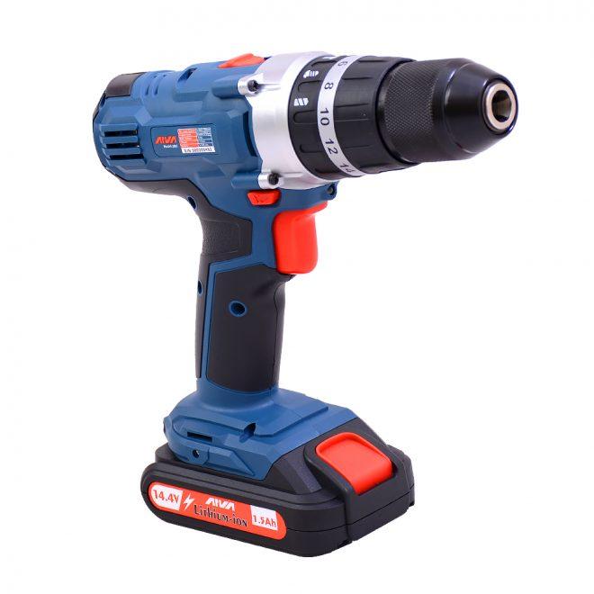 همکاری در فروش ابزار 118 دریل شارژی آروا مدل 58035
