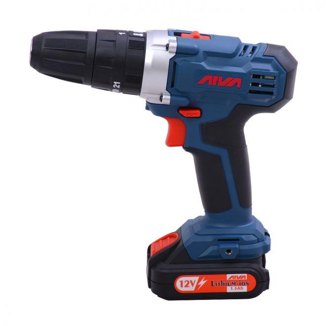 همکاری در فروش ابزار 118 دریل چکشی شارژی آروا مدل 58021