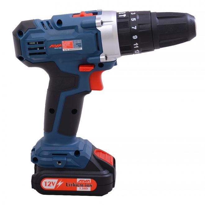 همکاری در فروش ابزار 118 دریل چکشی شارژی آروا مدل 58025
