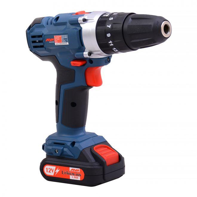 همکاری در فروش ابزار 118 دریل چکشی شارژی آروا مدل 58026