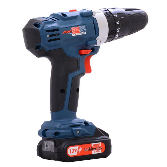 همکاری در فروش ابزار 118 دریل چکشی شارژی آروا مدل 58027
