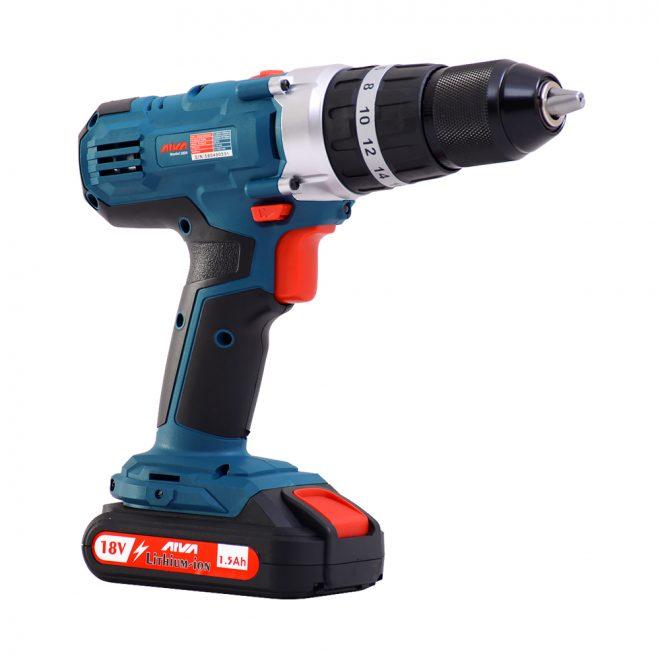 همکاری در فروش ابزار 118 دریل چکشی شارژی آروا مدل 5804 4