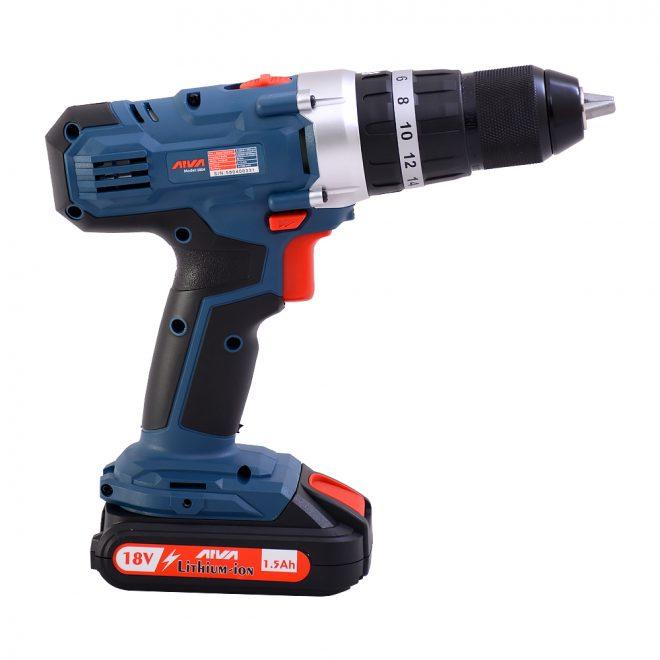 همکاری در فروش ابزار 118 دریل چکشی شارژی آروا مدل 5804 5