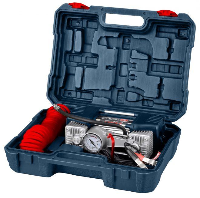 همکاری در فروش ابزار 118 کمپرسور باد فندکی دو سیلندر آروا مدل 5131