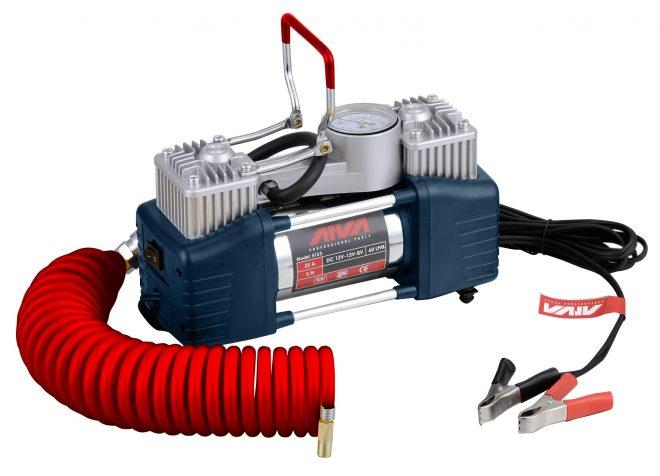 همکاری در فروش ابزار 118 کمپرسور باد فندکی دو سیلندر آروا مدل 5133