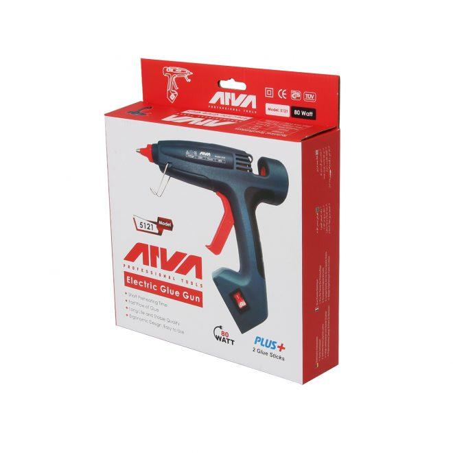 همکاری در فروش ابزار118 تفنگ چسب حرارتی آروا مدل 5121=-