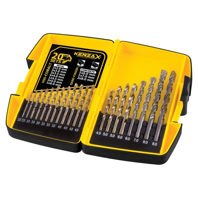 همکاری در فروش ابزار 118 جعبه مته کنزاکس