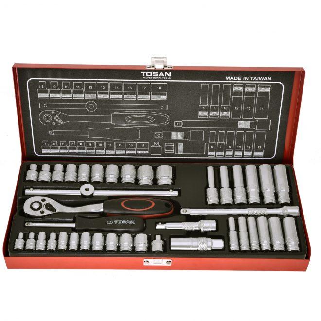 همکاری در فروش ابزار 118 جعبه بکس 40 پارچه توسن (2)