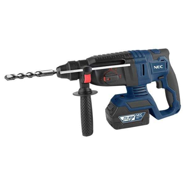 همکاری در فروش ابزار 118 بتن کن شارژی ان ای سی مدل 95211