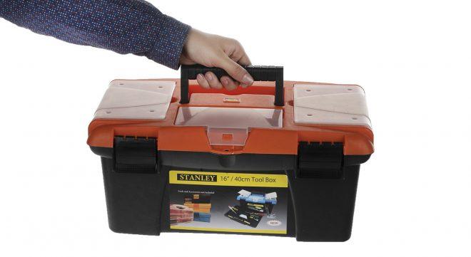 همکاری در فروش ابزار 118 جعبه ابزار پلاستیکی استنلی2