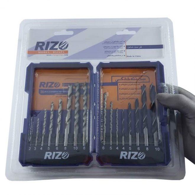 همکاری در فروش ابزار 118 جعبه مته ریزو مدل DS16PCS 4